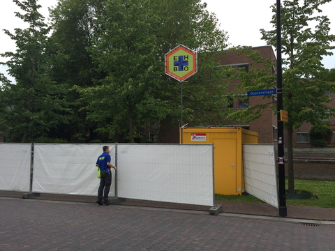 Controle EHBO-post Noordersingel